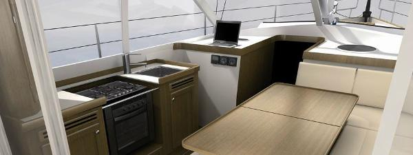 Manufacturer Provided Image: Albatross 37 Galley