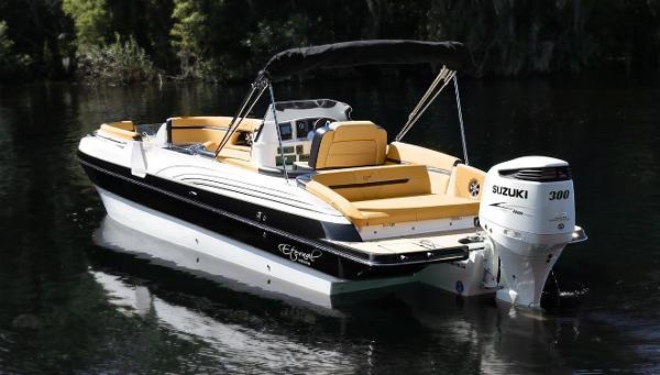 Eternal Boats 28 Catamaran Deck Boat