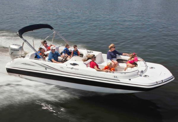 Hurricane SunDeck Sport 232 OB Manufacturer Provided Image