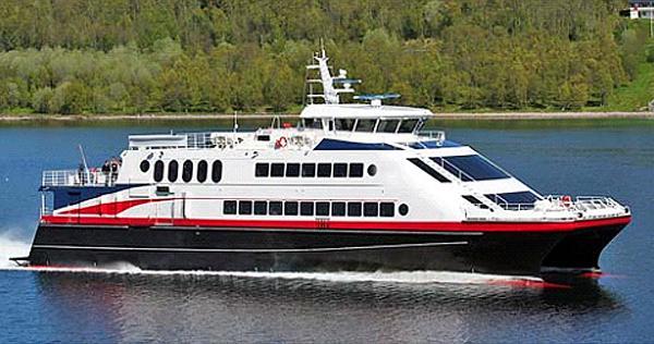 Custom Catamaran Ferry
