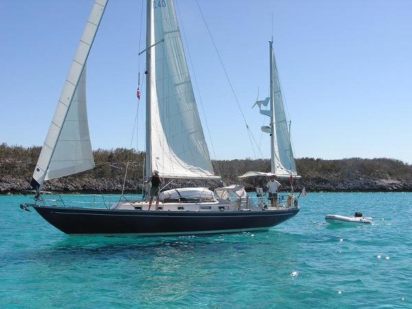 Block Island Migrator Block Island 40 Yawl 1987 Migrator Block Island 40 Edwards Yacht Sales