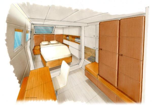Catana 70 Cabin