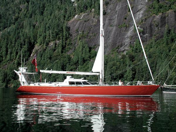 Baltic Custom 76 Cutter On the hook