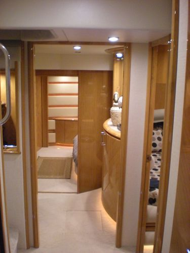 Foyer leading to Master Stateroom