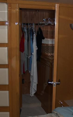Master Stateroom Walk-in Closet