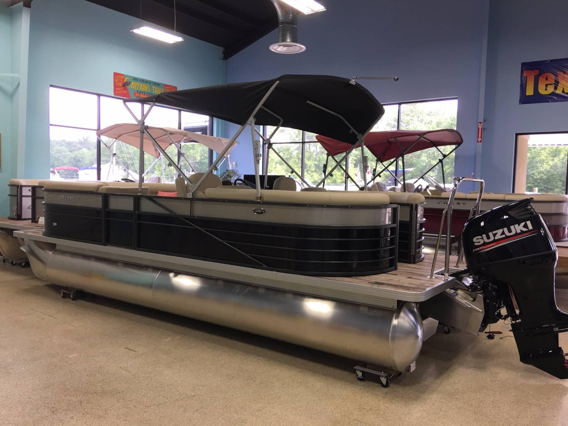 Crest Pontoon Boats II 230 SLC