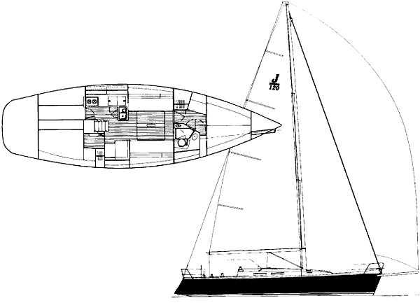 J Boats J/120 Manufacturer Provided Image