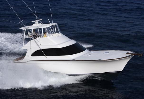 Davis 52 Sportfisherman Manufacturer Provided Image