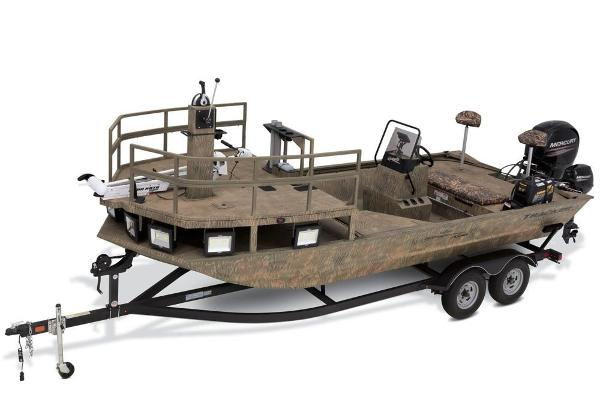 Tracker Grizzly 2072 CC Sportsman Kicker