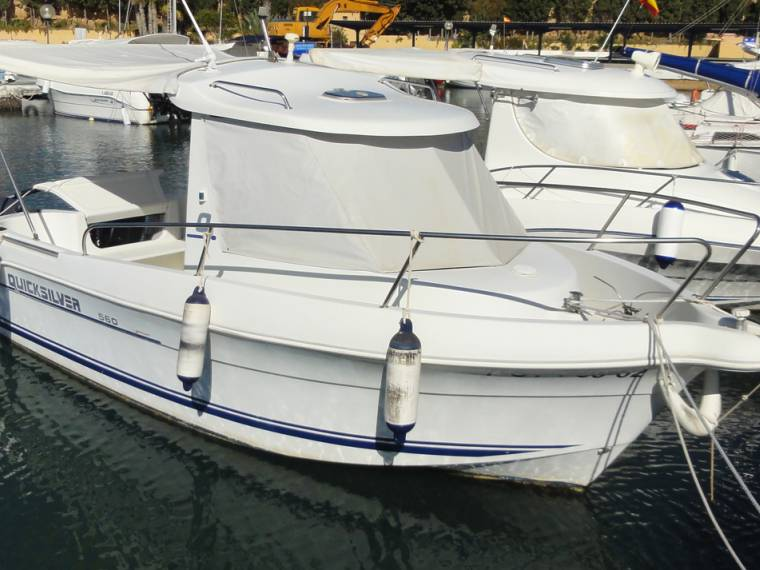Quicksilver QUICKSILVER 560 PILOTHOUSE 2 MOTORES