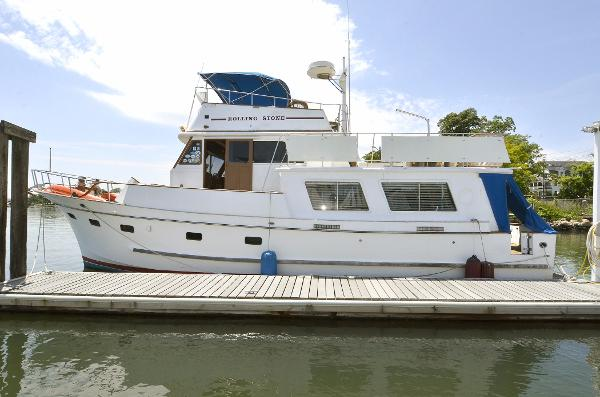 Marine Trader 48 Port Side