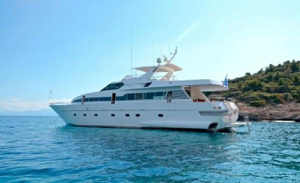Admiral 27m Quiet anchorage