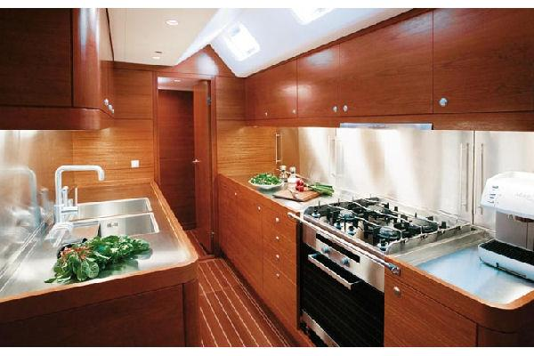 Nautor Swan 90 FD Galley