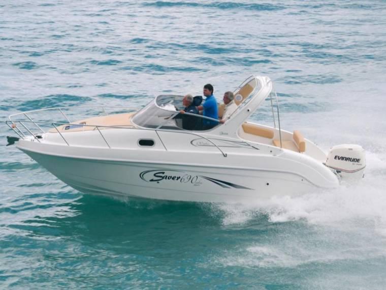 Saver 690 Cabin Ausstellungsboot ohne Motor