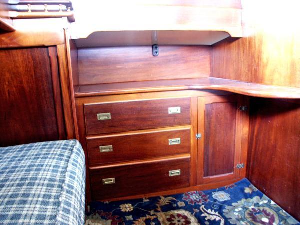 Dresser Aft Cabin