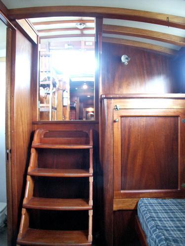Aft Cabin Doors Open