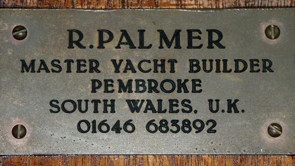 Restorers Name Plate