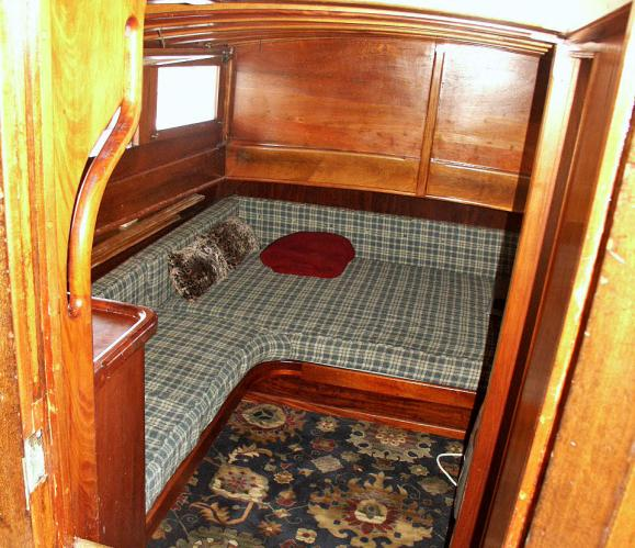 Looking Down Into Aft Cabin