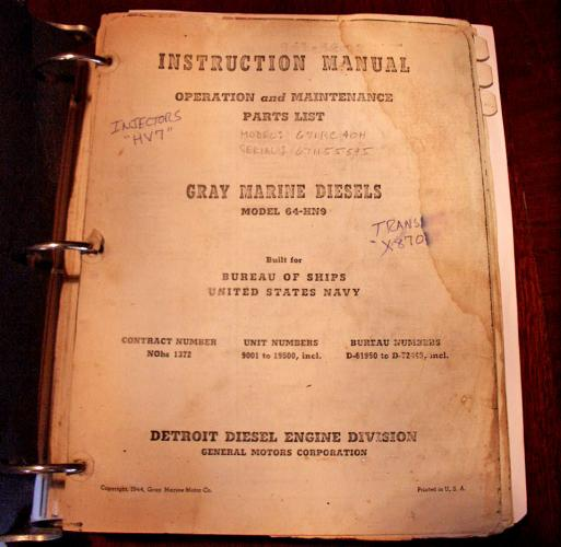 Original Engine Manual