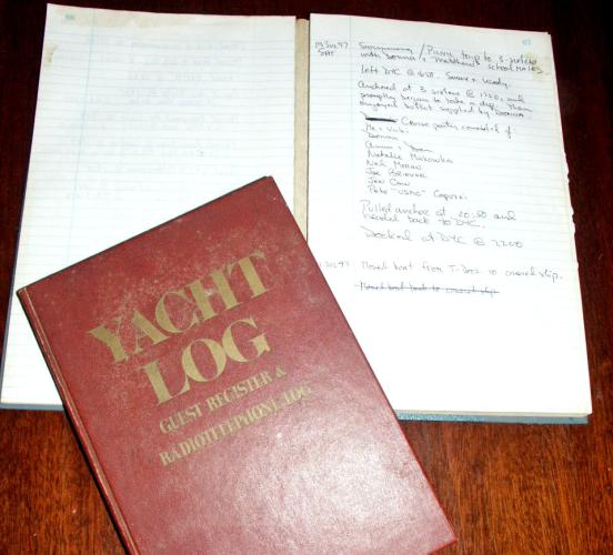 Original Log Books