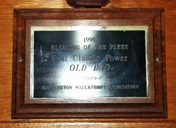 Old Dad Plaque