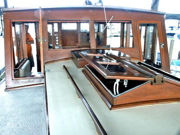 Looking Aft Hatch Open