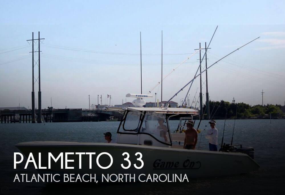 Palmetto 33 2004 Palmetto 33 for sale in Atlantic Beach, NC