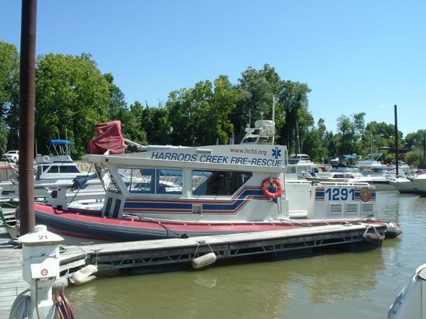 Zodiac Fire Boat H920 Aluminum Cabin Fireboat