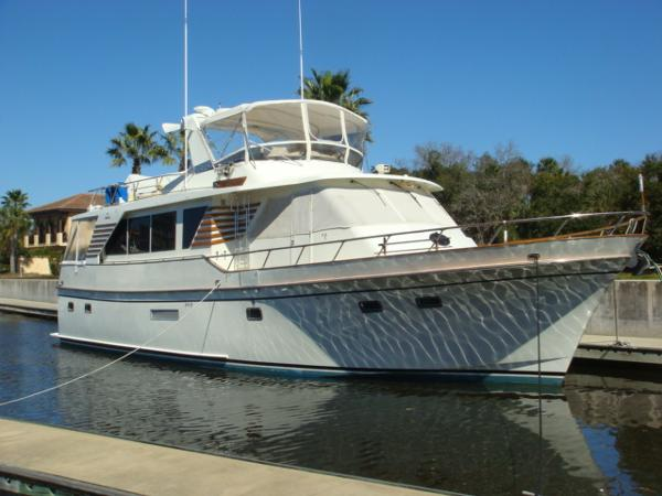 Defever Performance Offshore Cruiser 57' DeFever starboard forward profile