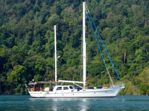 Custom Don Brooke 77 23m Pilot House Ketch