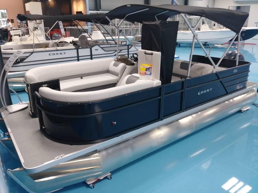 Crest Pontoon Boats I 220 SLRD
