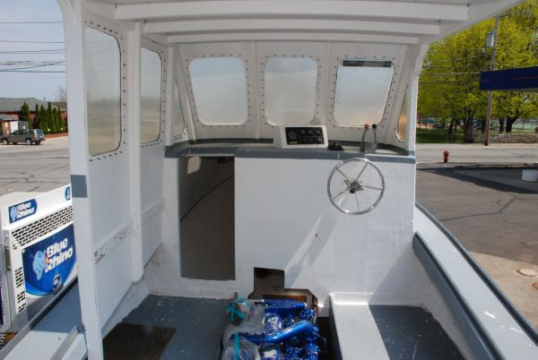 Helm, Companionway Down,  Engine