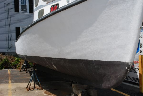 Hull needs Finish/Paint