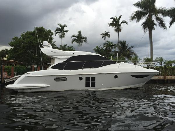 Azimut 40S STARBOARD SIDE PROFILE 2013 40S