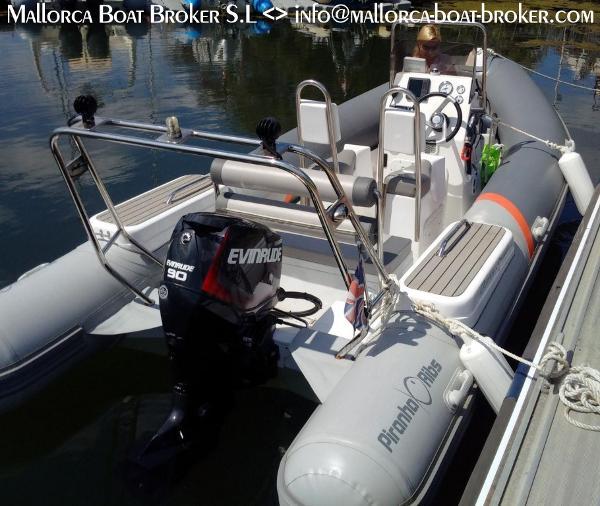 Piranha Ribs Ocean Sport Piranha Ocean Sport (2014) in Spanien