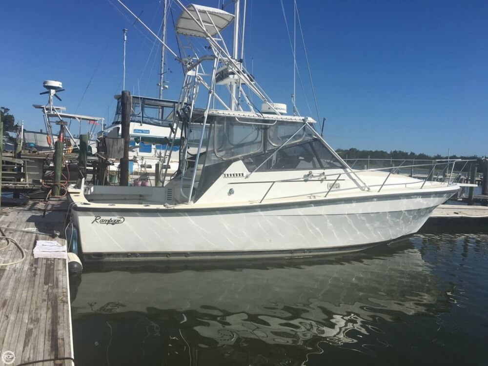 Rampage 33 Sport Fish Express 1991 Rampage 33 Sport Fish Express for sale in Sneads Ferry, NC