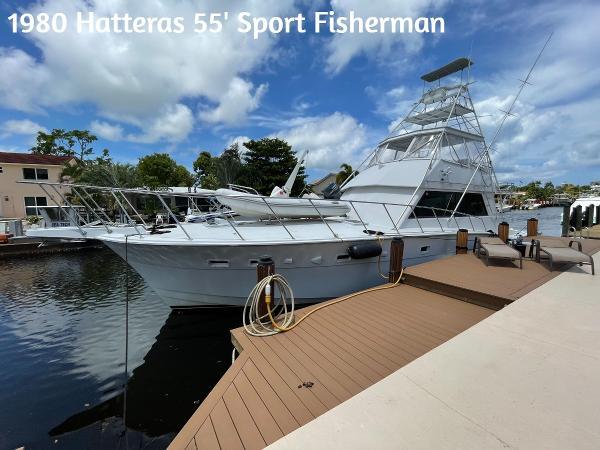Hatteras Convertible Sport Fisherman