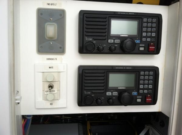 IC M604 VHF- 2 Units