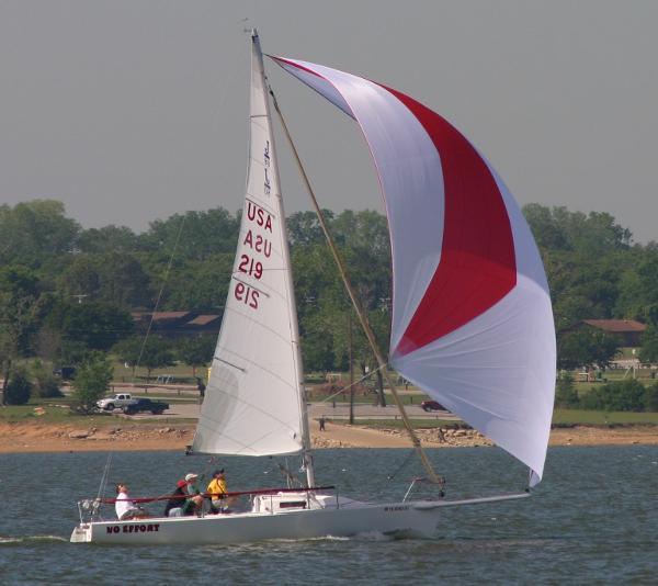 J Boats J/80 Down Wind Fun!