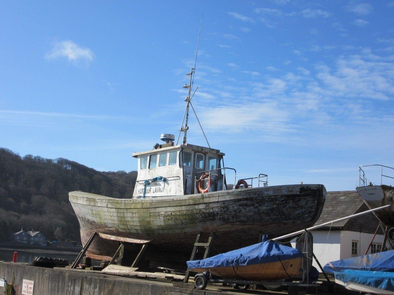 wooden Pilot Boat 52'