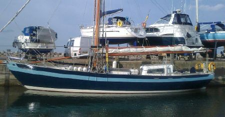 2006 Laurent Giles 54' Steel Gaff Rigged Cutter, Hythe