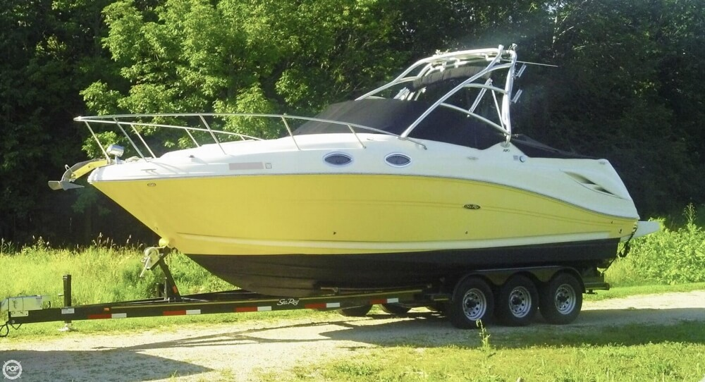 Sea Ray 270 Amberjack 2005 Sea Ray 270 Amberjack for sale in Luxemburg, WI