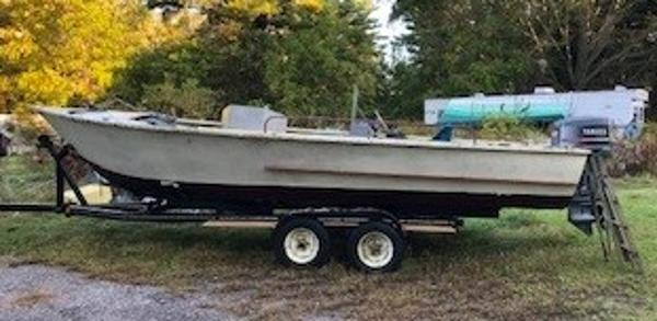 Commercial 24' Steel Open Work Boat