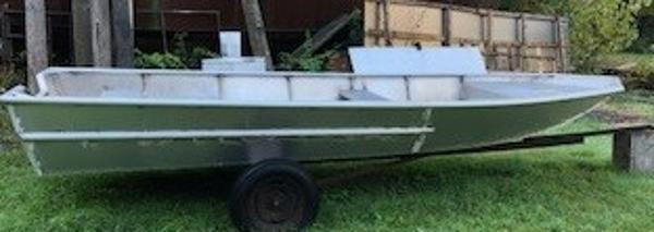 Commercial 19'6 Aluminum Open Work Boat