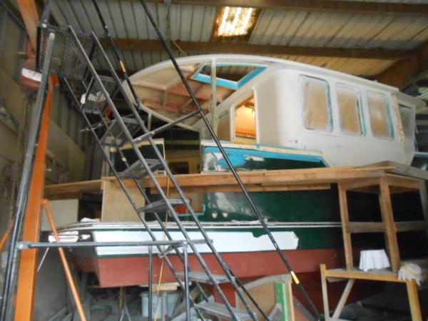 Legacy 341 Long Range Trawler