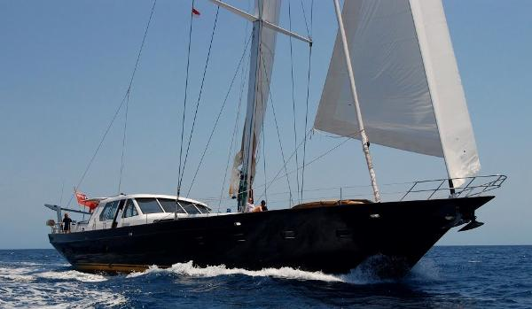 Culham Custom Sailing Yacht A Noble Bow