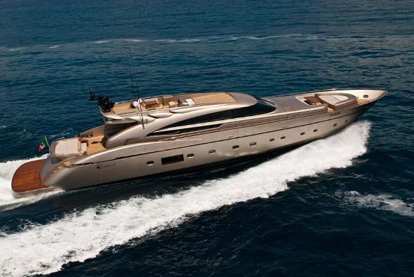 Ab Yachts 116 in navigation 1