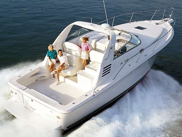 Sea Ray 330 Express Cruiser Manufacturer Provided Image