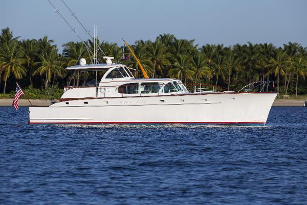 Rybovich 54' Yachtfish Profile - Starboard View