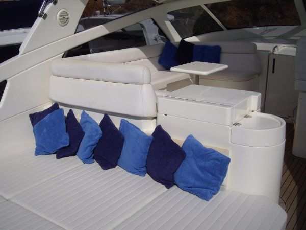 BAIA FLASH 48 Aft Sunbed